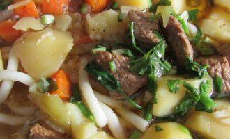 Как готовить лагман из говядины рецепт с фото