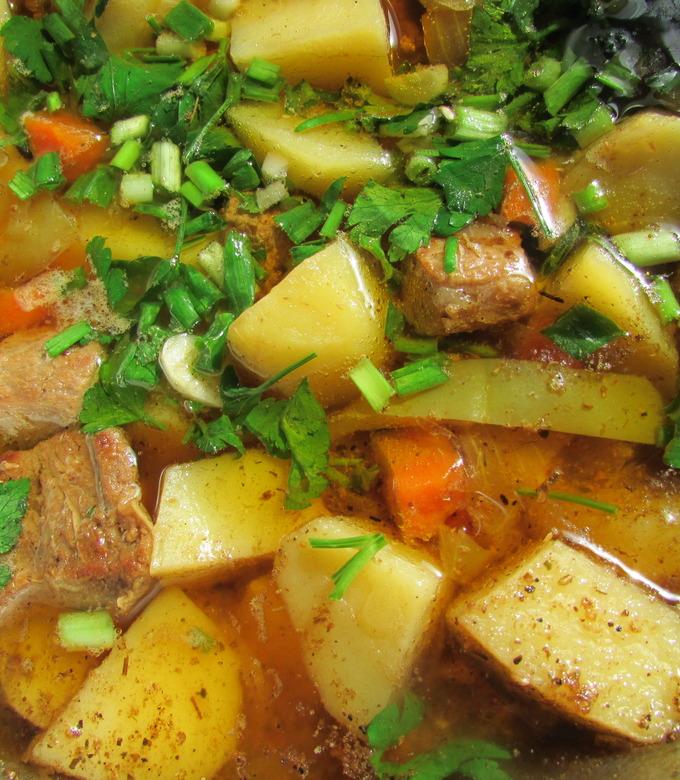 Рецепт домашнего лагмана из баранины