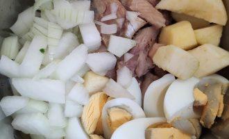 Рецепт форшмака из селедки с яйцом и яблоком