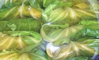 Голубцы из свежей капусты