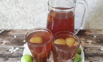 Рецепт компота из винограда и яблок пошагово с фото