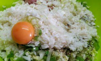 Ленивые голубцы с капустой и рисом