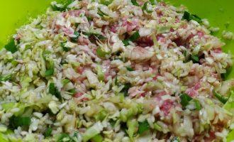 Рецепт ленивых голубцов с рисом