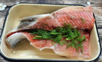 Малосольная красная рыба рецепт с фото