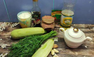 Маринованные кабачки с чесноком