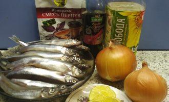 Рецепт мойвы в духовке