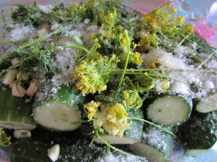 Рецепт хрустящих малосольных огурцов
