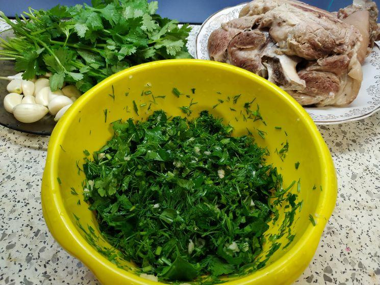 Рецепт свиной рульки в духовке