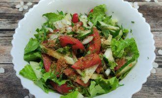 Рецепт салата из огурцов