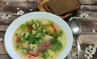 Пошаговый рецепт с фото супа с фрикадельками