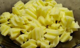 Сырный суп с курицей и сыром