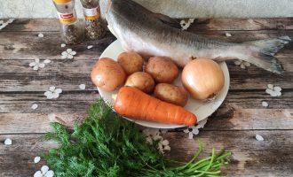 Рецепт ухи из горбуши