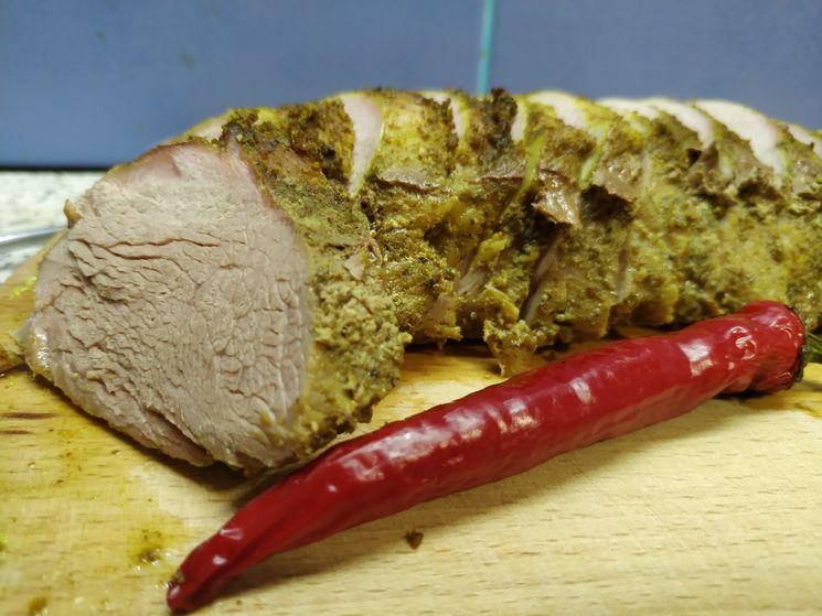 Вкусная свиная вырезка