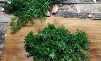 Рецепт зеленых помидоров с чесноком пошагово с фото