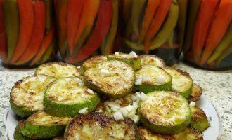 Быстрый вкусный рецепт жареных кабачков